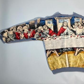 Composed by Cynn R Last Supper Sweater 1