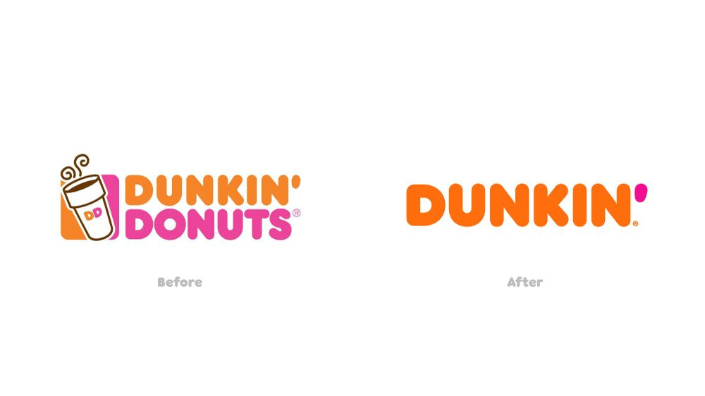 Dunkin Before and After