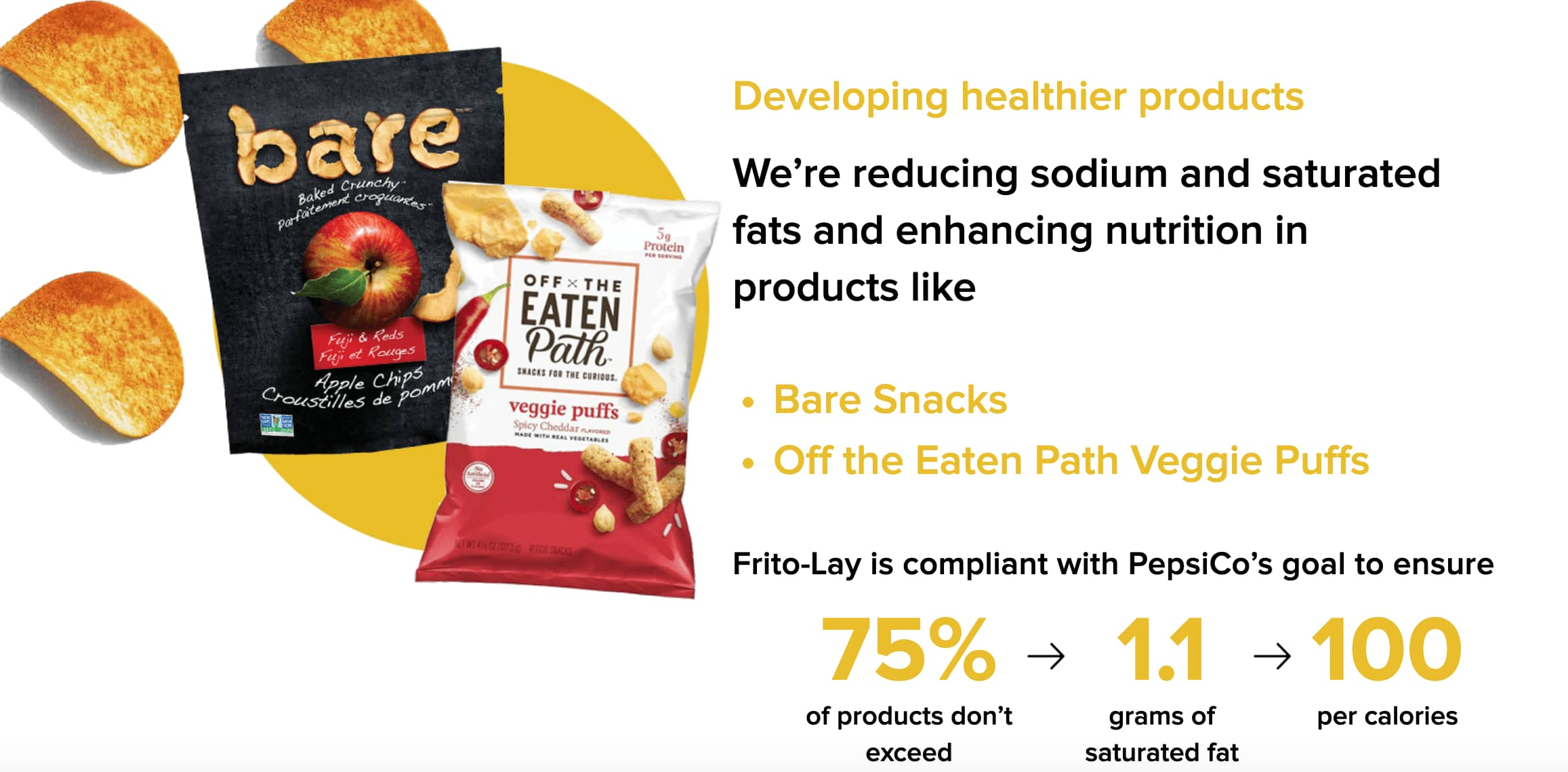 Frito Lay Healthy lol