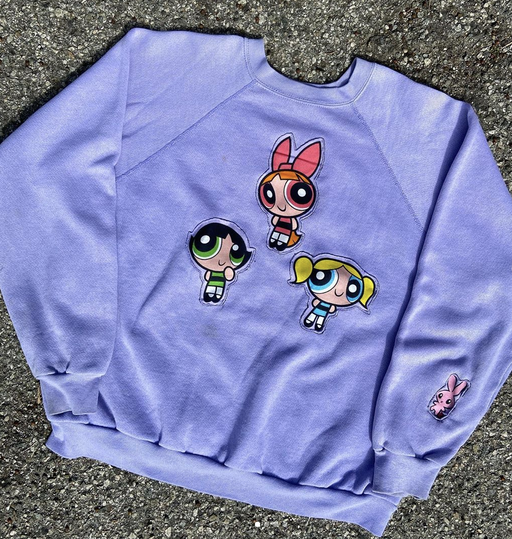 Composed by Cyn R Powerpuff sweatshirt